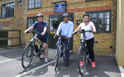 Qube automotive consultants choose a green commute with the 'Cycle to Work' scheme