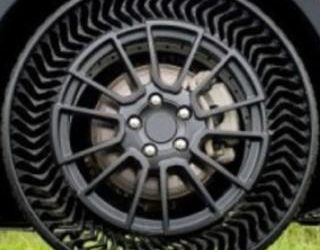Revolutionary Airless Tyres  to Make Cars Puncture Proof
